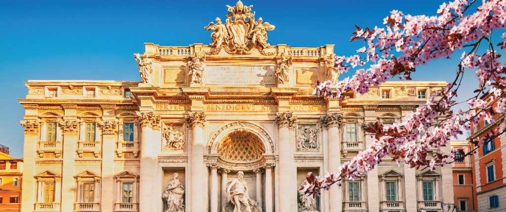 Visit Rome during spring and fall