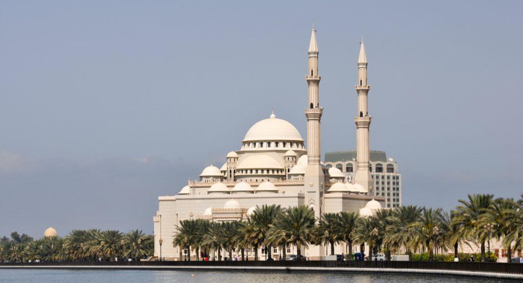 Al Noor Mosque- Places to Visit in Sharjah